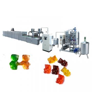 80kg/hour Gummy Bear Depositing Machine Line Jelly Candy Production Line Starch-less Gummy Candy Maker Depositor