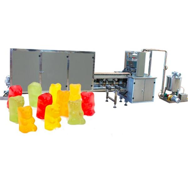 Jelly Candy Cutting and Pillow Packing Machine