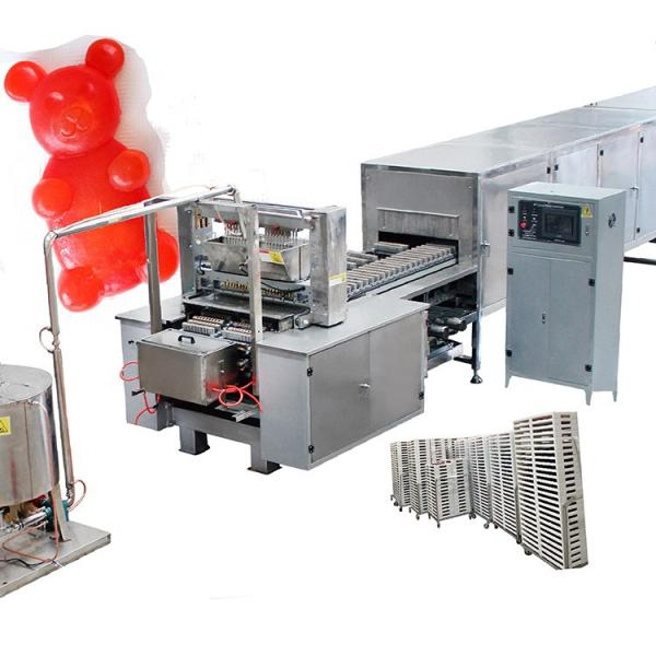Candy mixer and factories produce plastic moulds for electric gummy bear maker