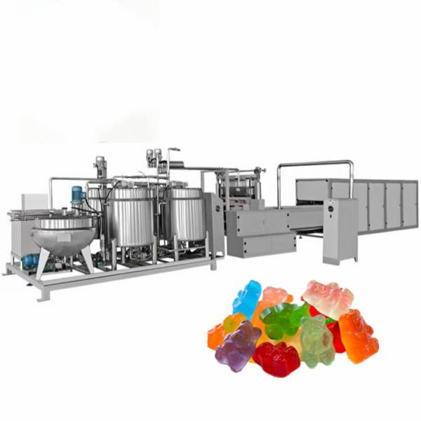 Full Automatic Sweets Vitamin Fruit Jelly Gummy Candy Maker Making Machine